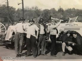 Pictured left to right, George O'Brian, John Marshall Jr., Unkown, Bill French, George Rubin Sr., William Whalen Jr.