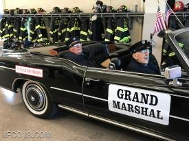 Grand Marshal's and 70 year members George Rubin Sr. & John A Marshall Jr.